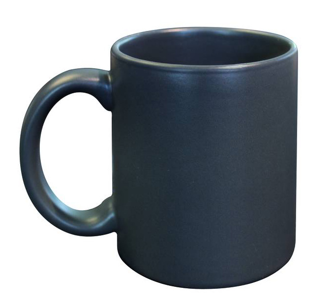 grau graue becher tassen mugs f r firmen handel gewerbe. Black Bedroom Furniture Sets. Home Design Ideas