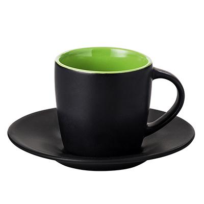 gr n gr ne keramik becher tassen mugs f r firmen handel gewerbe. Black Bedroom Furniture Sets. Home Design Ideas