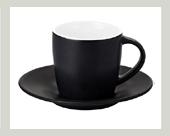 kaffee tassen mit untertassen mit ihrem logo oder bilder druck f r firmen gewerbe. Black Bedroom Furniture Sets. Home Design Ideas