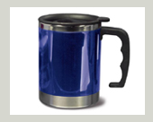 Thermo Trink Becher blau