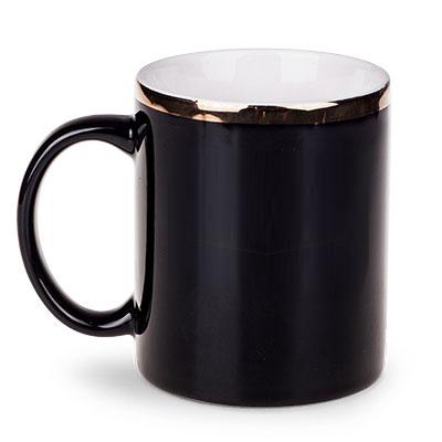 kaffeebecher m nchen schwarz mit goldrand oder golddruck bestellen. Black Bedroom Furniture Sets. Home Design Ideas
