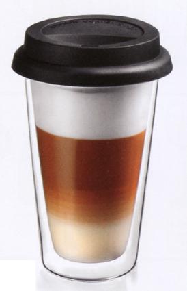 coffee to go becher aus glas doppelwandig bedrucken lassen. Black Bedroom Furniture Sets. Home Design Ideas